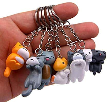 cute cat keychains