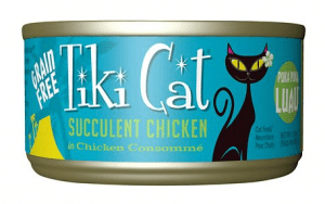 tiki cat succulent chicken
