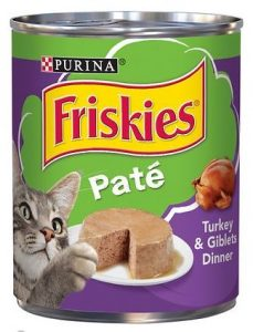 friskies pate turkey and giblets