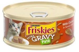 friskies extra gravy pate chicken