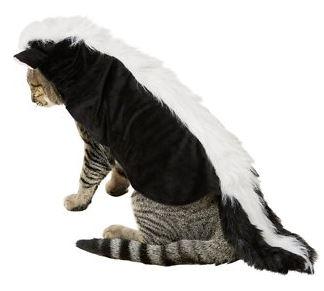 skunk cat costume