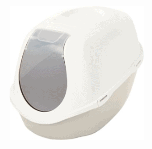 Frisco Deluxe Hooded Cat Litter Box With Scoop
