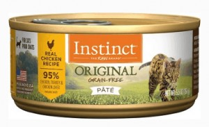 INSTINCT BY NATURE'S VARIETY GRAIN-FREE NATURAL WET CANNED CAT FOOD