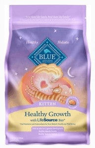 4. Blue Buffalo Healthy Growth Natural Kitten Food