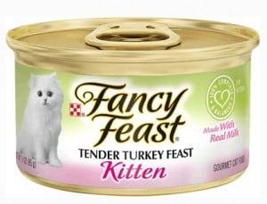 6. Purina Fancy Feast Kitten Canned Wet Cat Food