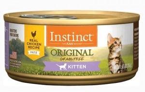 5. Instinct Original Kitten Grain-Free Recipe Natural Cat Food