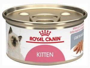 7. Royal Canin Feline Health Nutrition Babycat Instinctive Loaf in Sauce