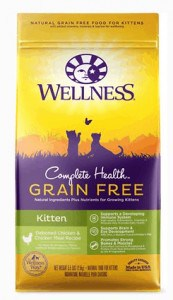 2. Wellness Natural's Complete Health Kitten Formula, Dry