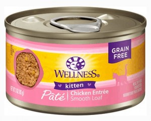 1. Wellness Natural's Complete Health Kitten Formula, Canned